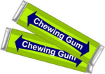 chewing gum clipart